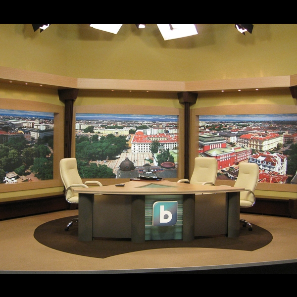 TV Studio of bTV This Morning