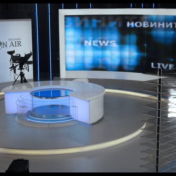 TV Studio of Bulgaria On Air